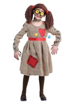 Girls Voodoo Doll Costume