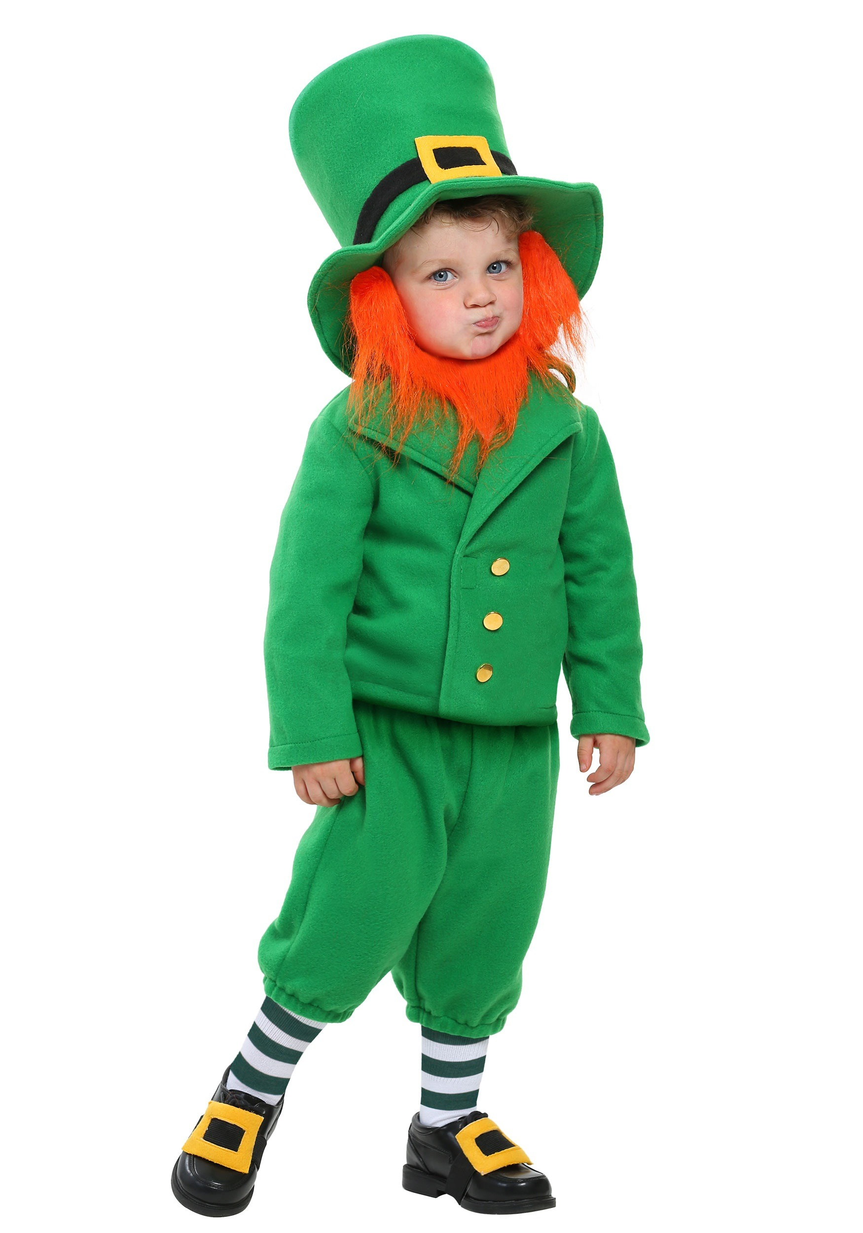 Wee Little Leprechaun Toddler Costume  sc 1 st  Fun.com & Wee Little Leprechaun Costume for Toddlers