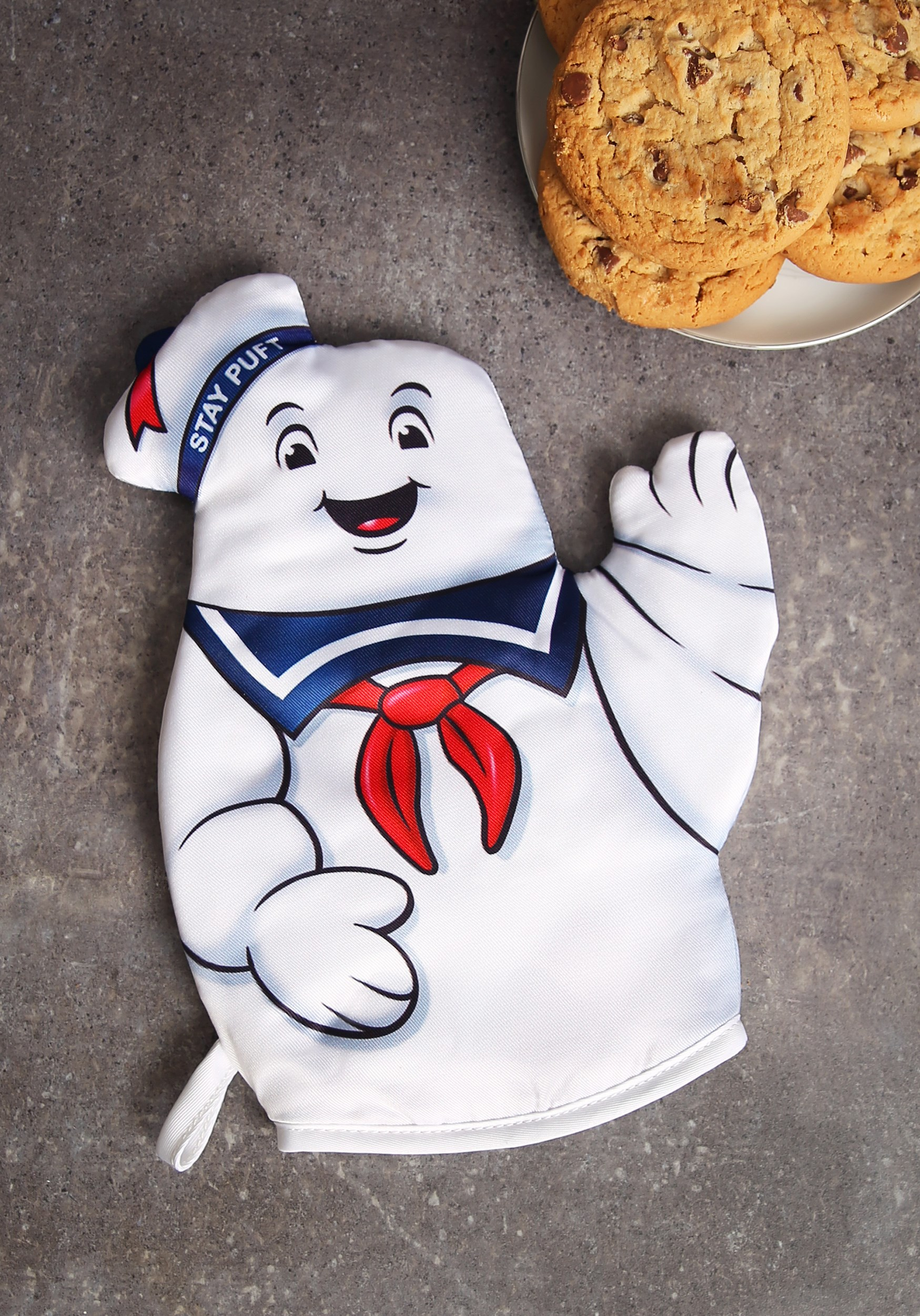 Ghostbusters Stay Puft Marshmallow Oven Mitt EEDDCL5405