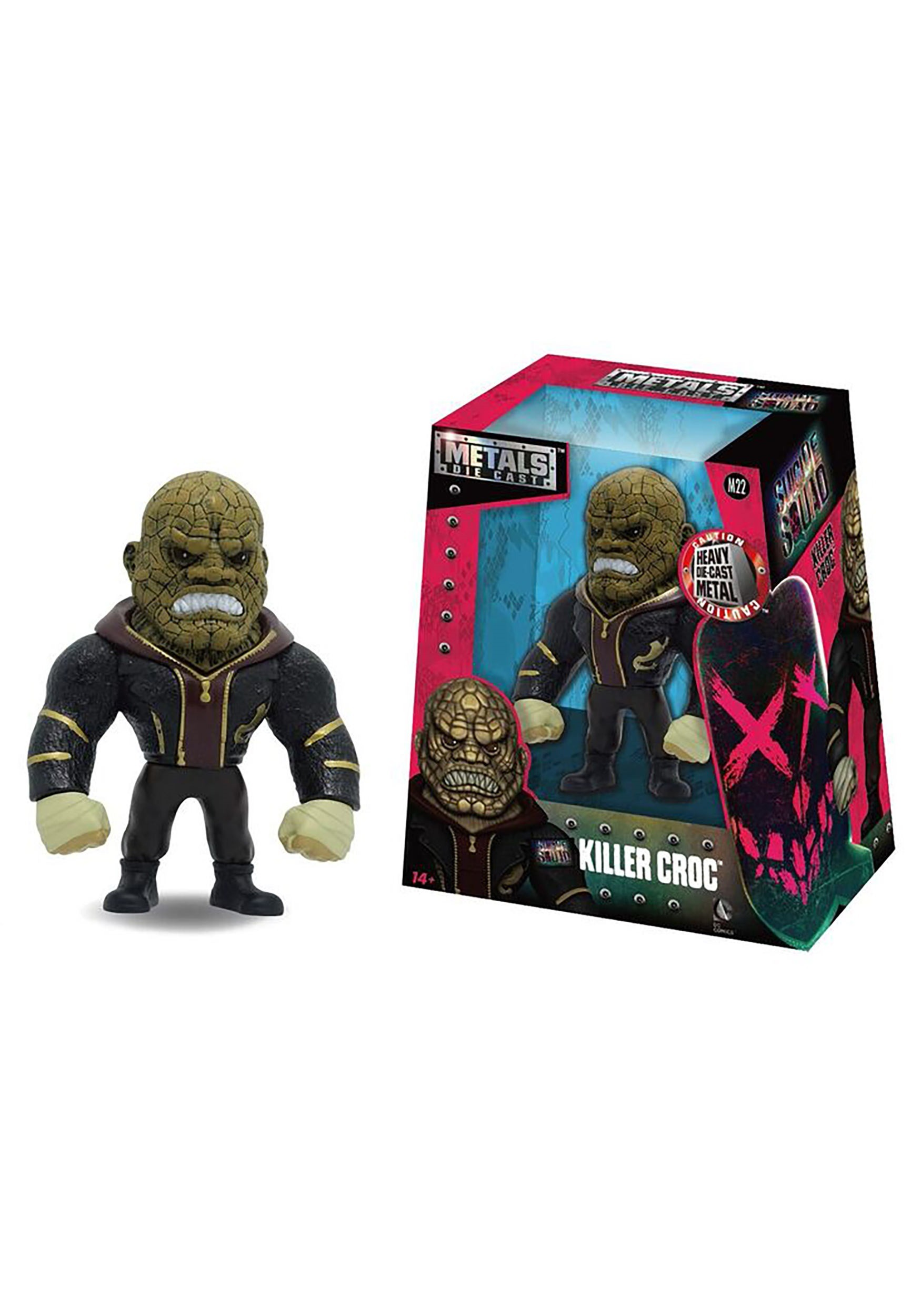 "Suicide Squad Killer Croc 4"" Figure JD97570"