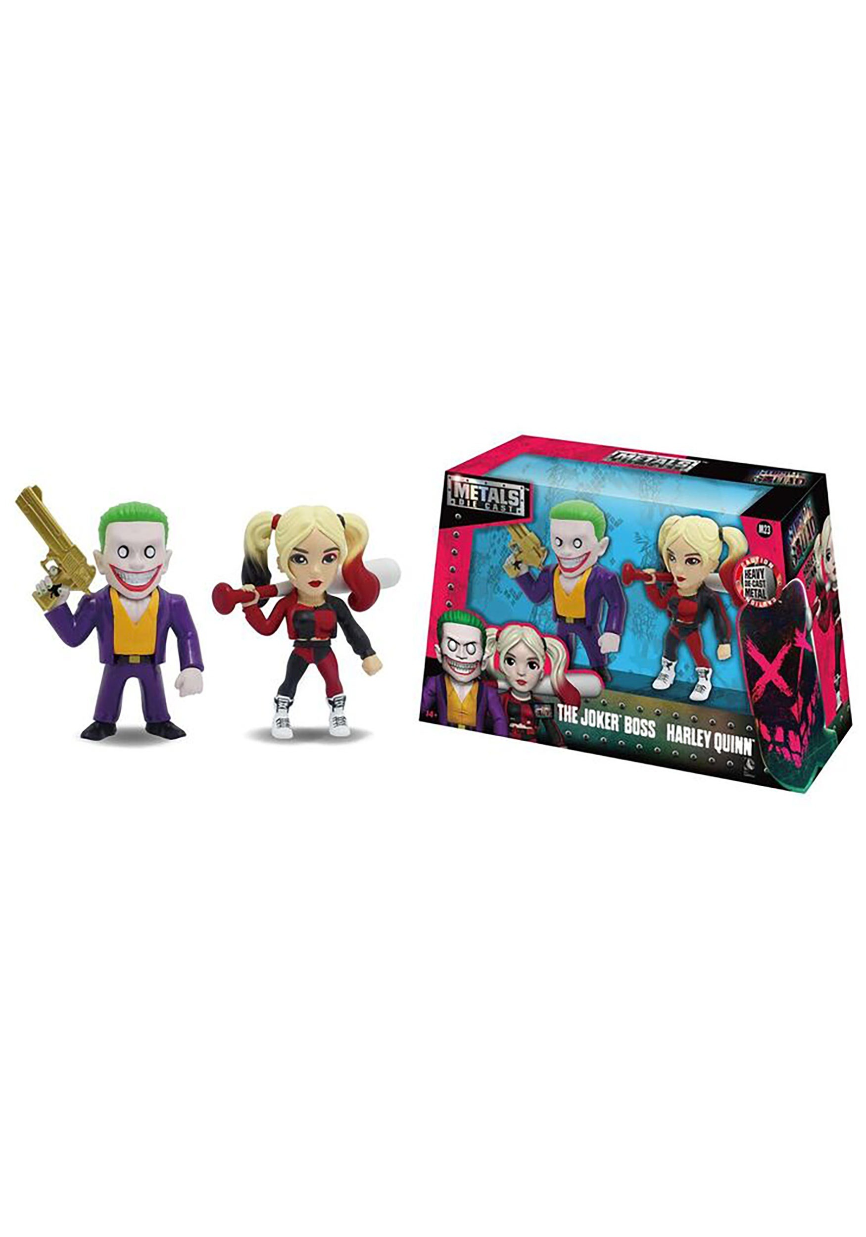 "Suicide Squad Joker & Harley Quinn 4"" Figure Twin Pack JD97571"