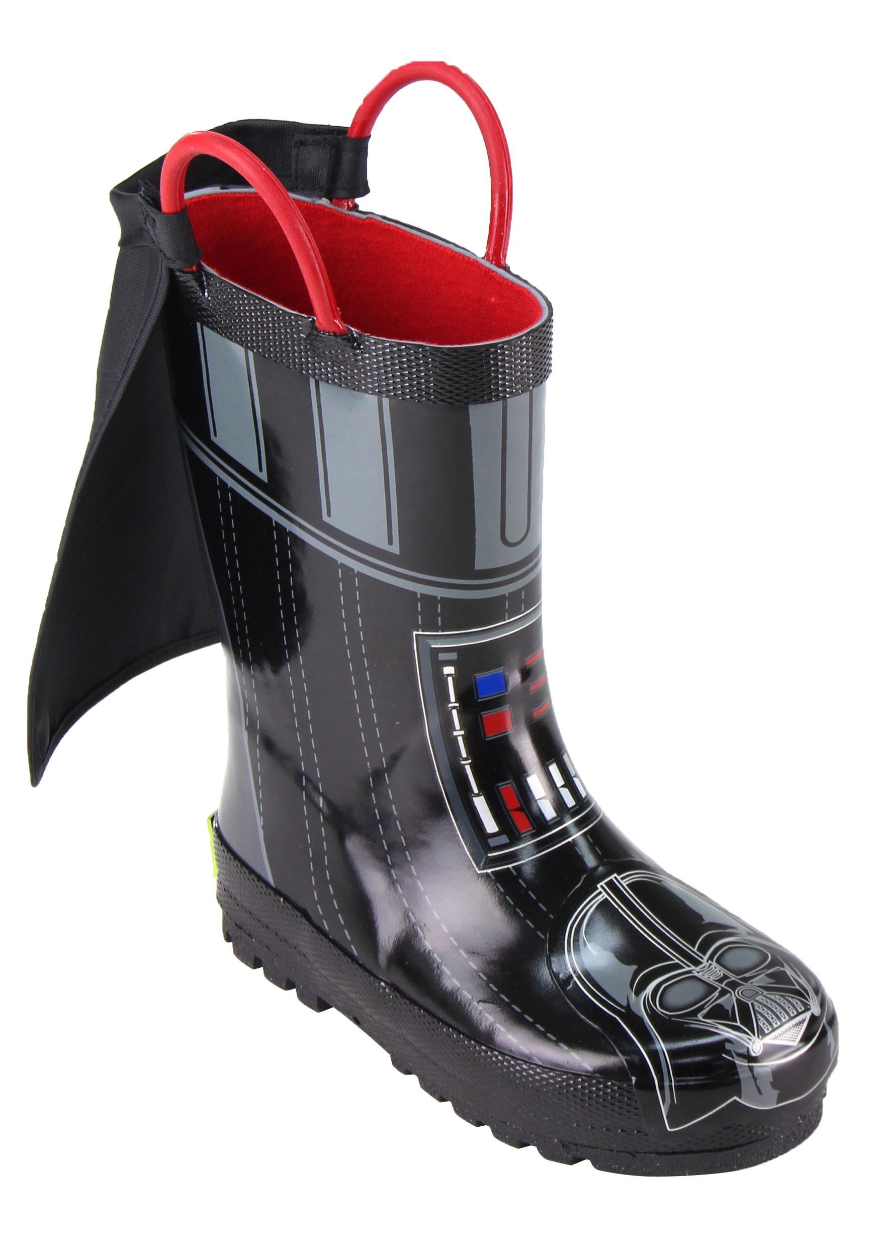 Star Wars Darth Vader Rain Boots for Kids