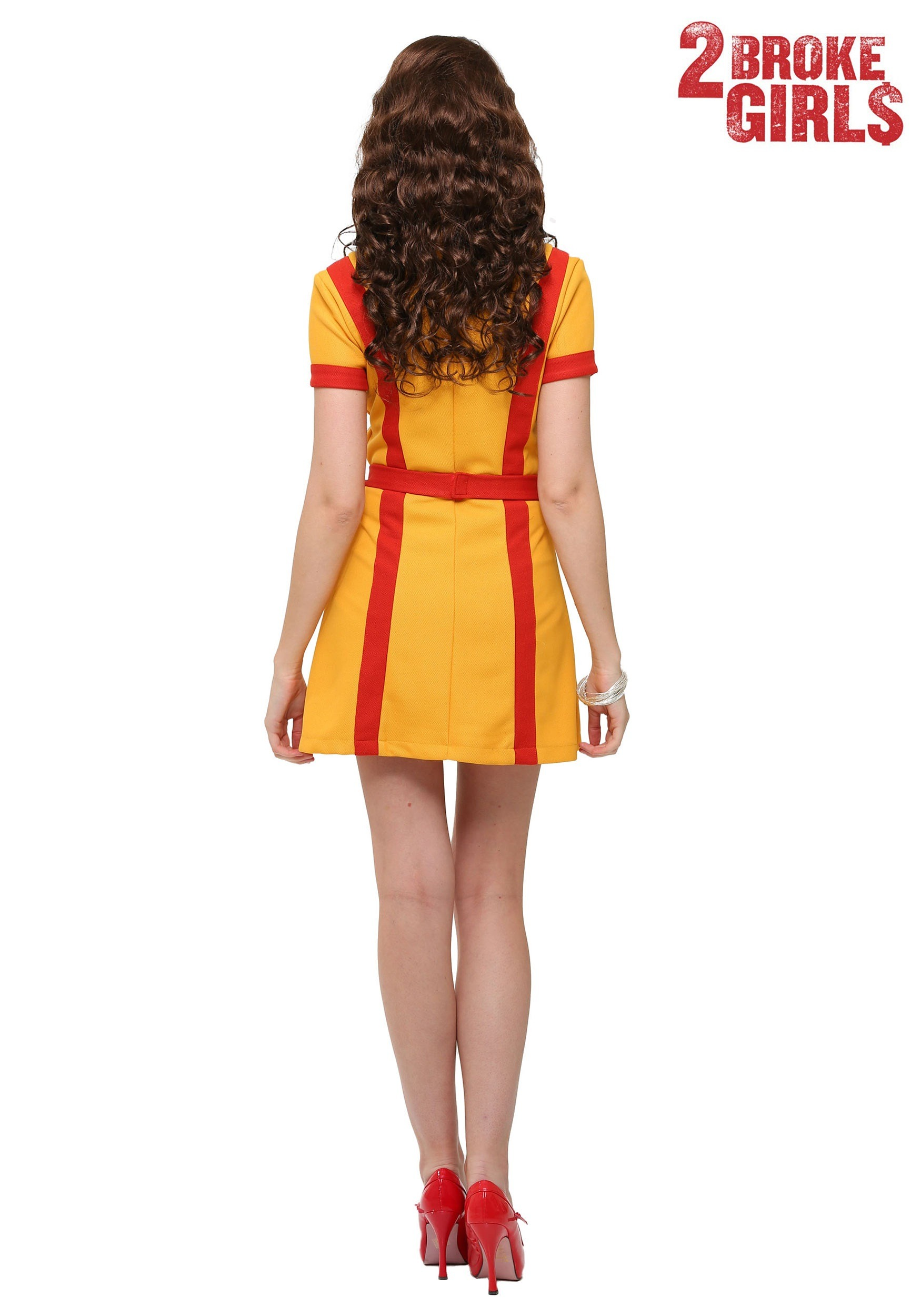 74ede0198015 Waitress Costume & Buy Born To Serve Waitress Costume At Low Prices ...