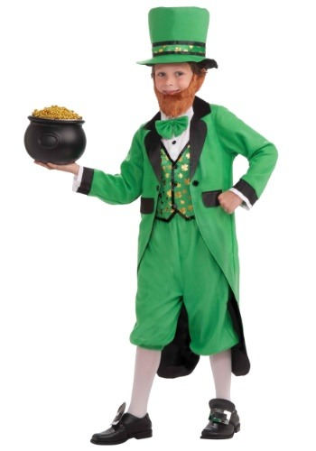 Lucky Leprechaun Kid's Costume-update1