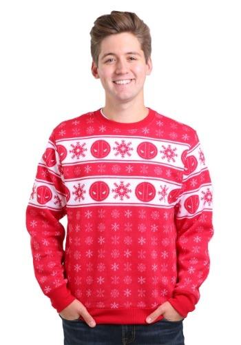 Marvel Deadpool Pool Flakes Ugly Christmas Sweater