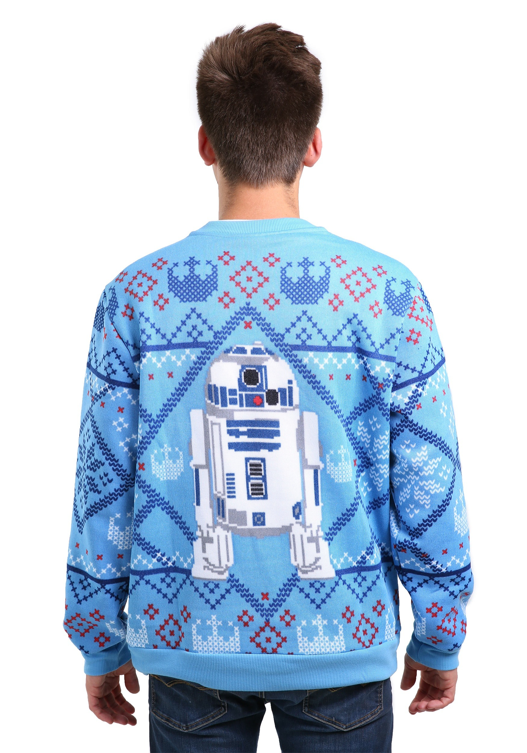 Star Wars Cozy Artoo Ugly X-Mas Sweater for Men