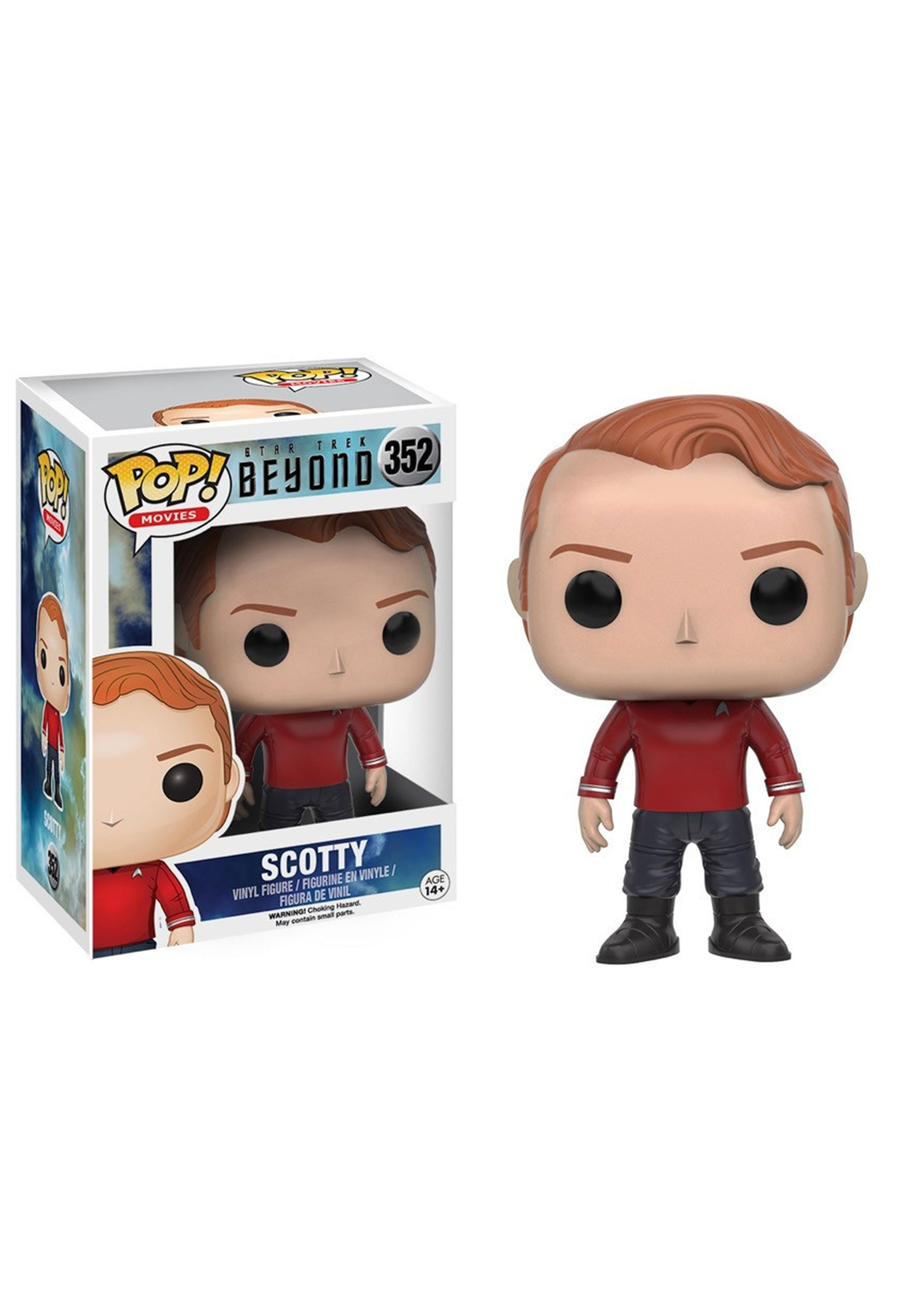 POP Star Trek Beyond Scotty Vinyl Figure FN10491