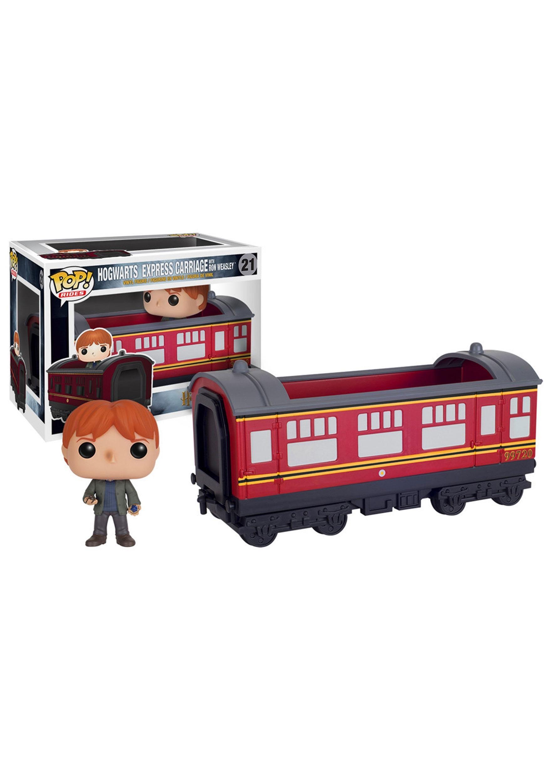 POP Harry Potter Hogwarts Express Train Car w/ Ron Weasley FN5973