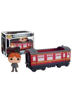 POP Harry Potter Hogwarts Express Traincar With Ron Weasley