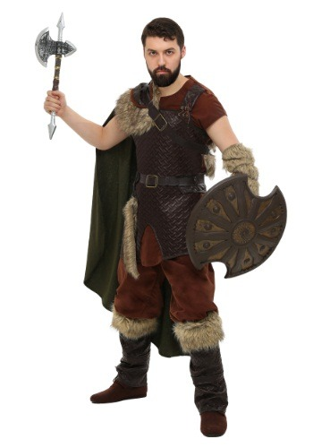 Plus Size Nordic Viking Costume