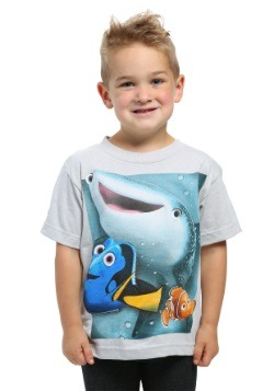 Finding Dory Group Shot Boys T-Shirt