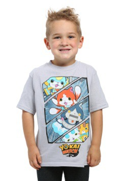 Boys Yo-Kai Watch Action Shot T-Shirt