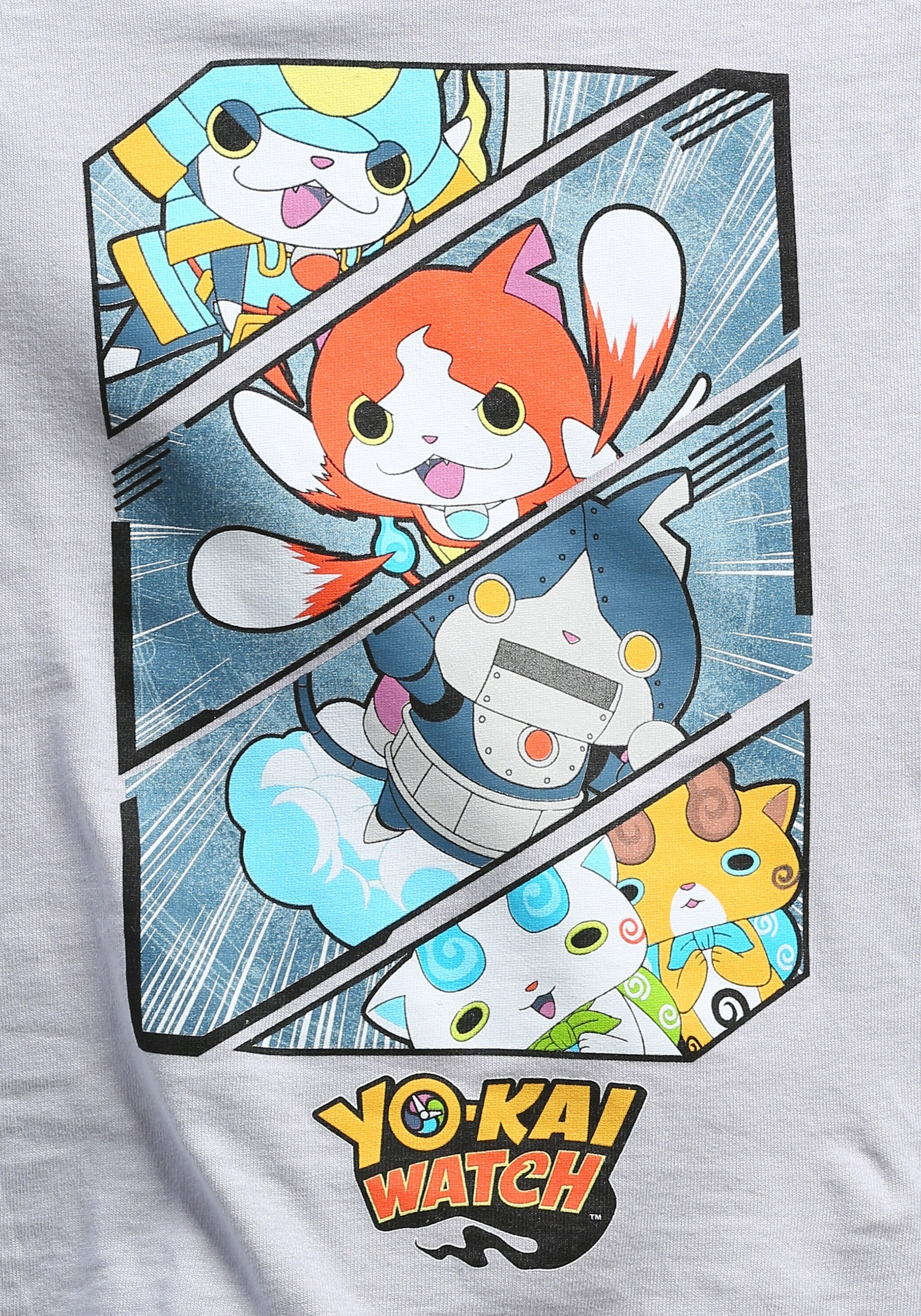 Yo kai watch action shot t shirt for kids for Sale de bain yo kai watch 2