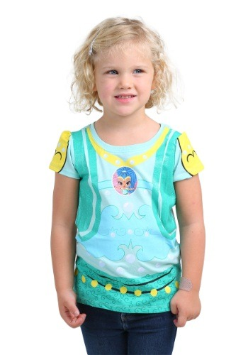 Toddler Shimmer And Shine Girls Shine Costume Tee
