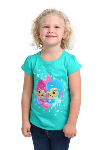 Toddler Girls Shimmer And Shine Twins Together T-Shirt