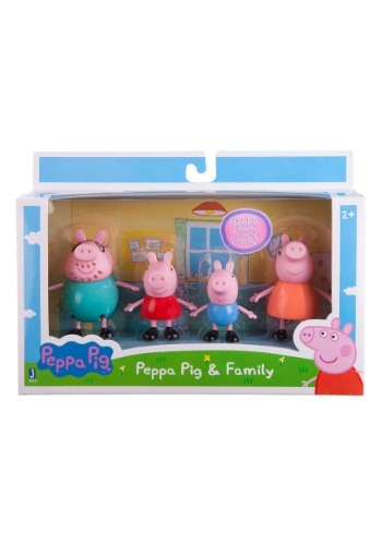 """Peppa Pig 3"""" Peppa & Family Pack ZO92611"""