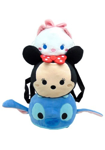 Tsum Tsum Stitch Minnie Marie Plush Backpack  ZOW13486