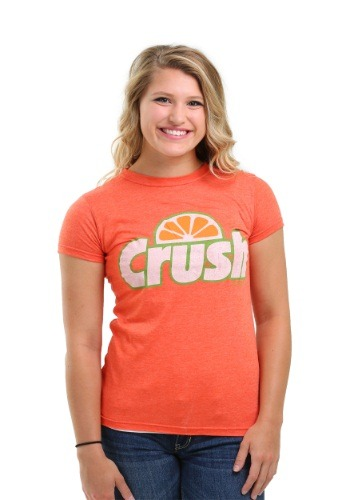 Orange Crush Vintage Logo Juniors Tee