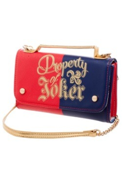 Property of Joker Womens Chain Wallet