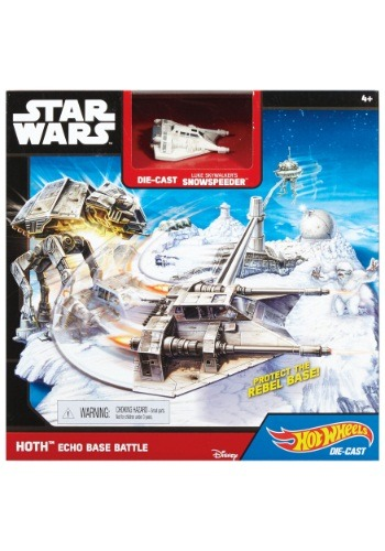 Hot Wheels Star Wars Hoth Echo Base Battle Playset MLCGN34