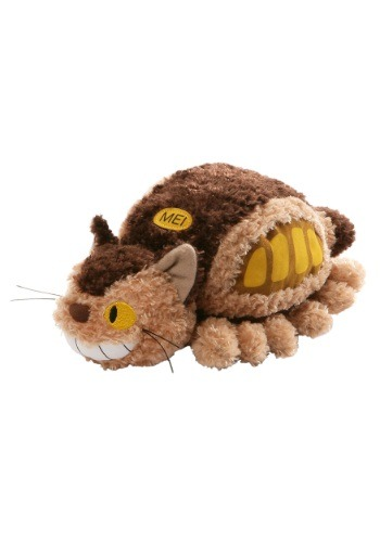Totoro Fluffy Cat Bush Stuffed Figure