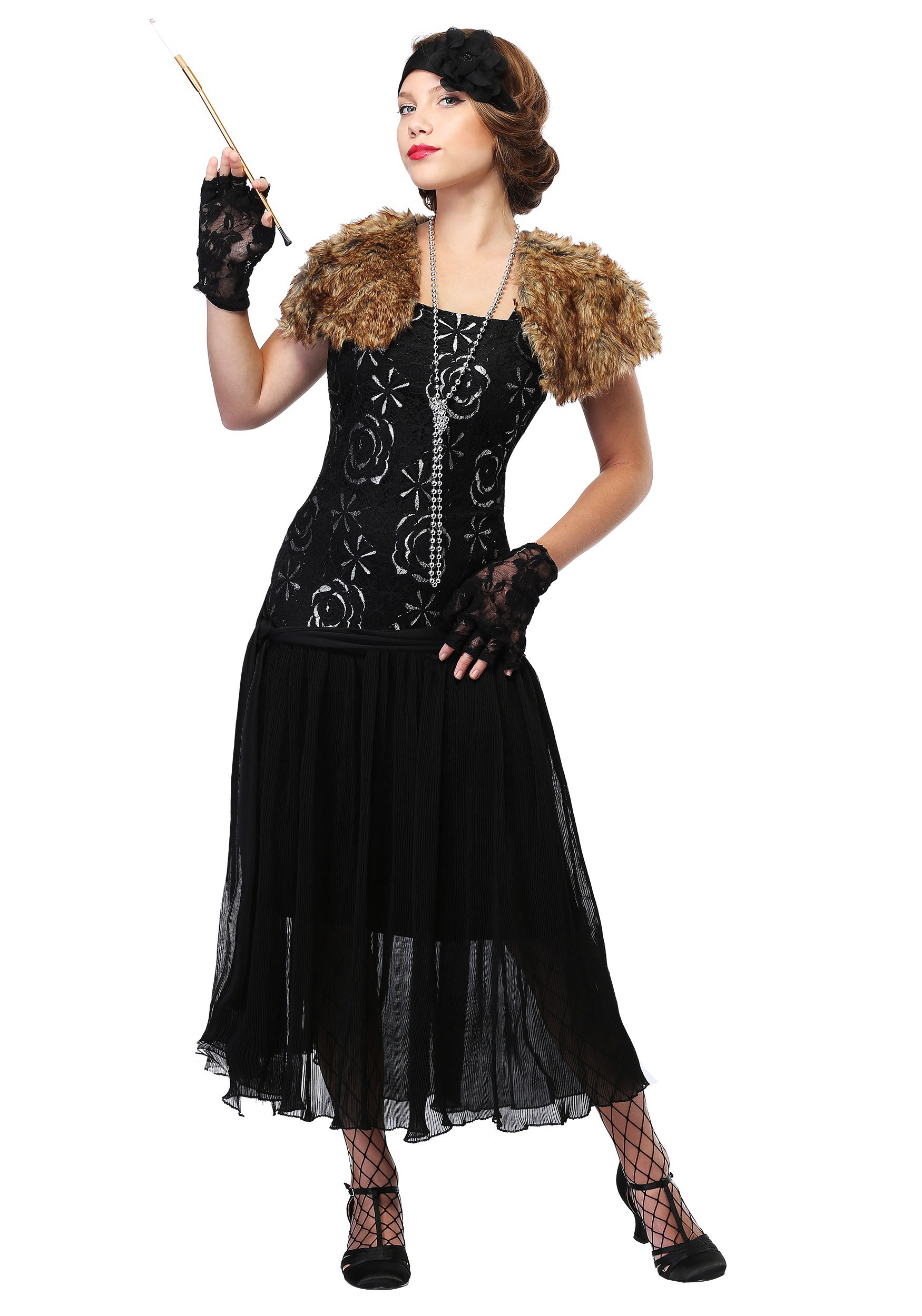 Plus Size Charleston Flapper Costume