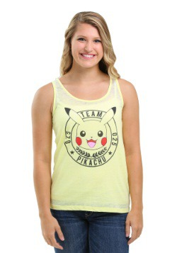 Pokemon Team Pika Juniors Spongy Racerback Tank