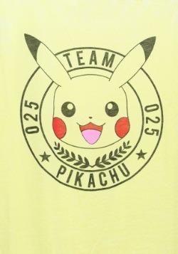 Pokemon Team Pika Juniors Spongy Racerback Tank1