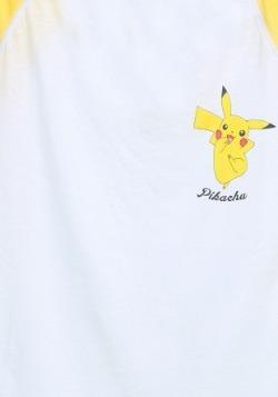 Pokemon Pikachu Jump Juniors Raglan1