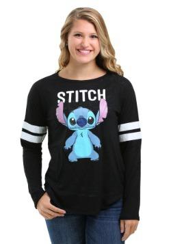 Stitch Hacci Football Crew Juniors Long-Sleeved Tee