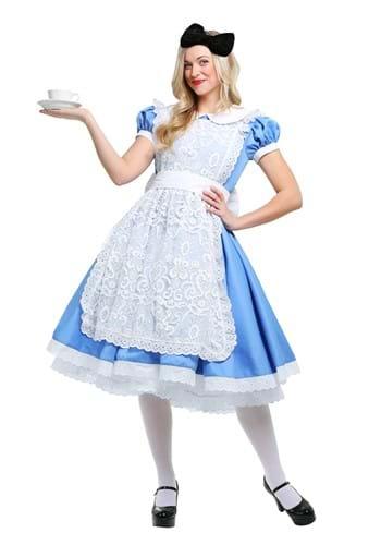 Women's Elite Alice in Wonderland Costume
