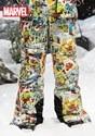 Kids Marvel Comic PrintSnow Pants