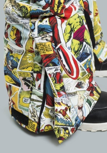 Kids Marvel Comic Print Snow Pants