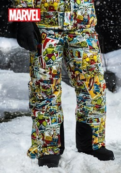 Marvel Comic Print Snow Pants upd