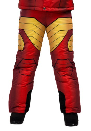 Kids Iron Man Superhero Snow Pants