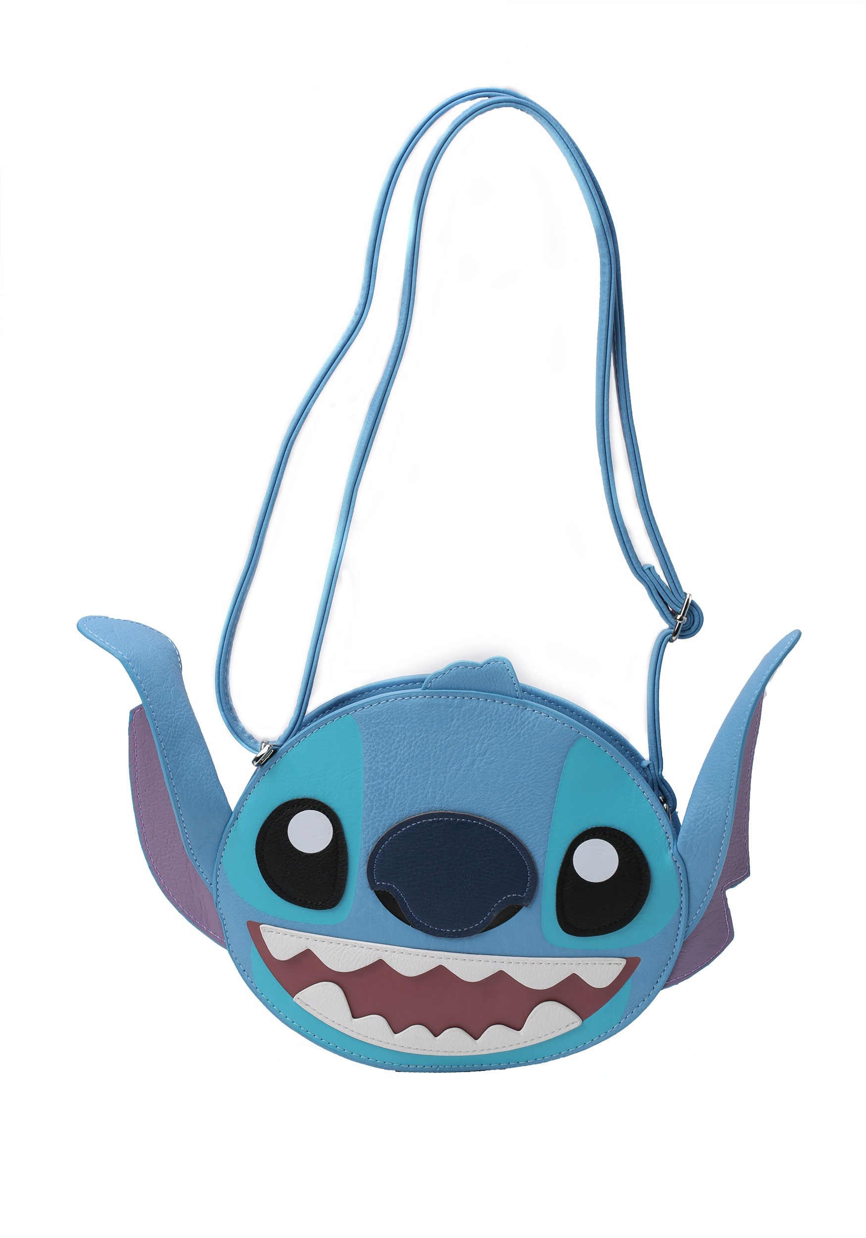 c514389c9a85 Disney Lilo and Stitch Stitch Face Faux Leather Cross Body Bag