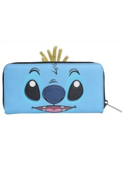 Disney Lilo and Stitch Scrump and Stitch Zip Around Wallet