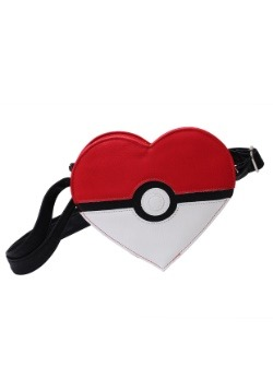Pokemon Pokeball Heart Faux Leather Cross Body Bag