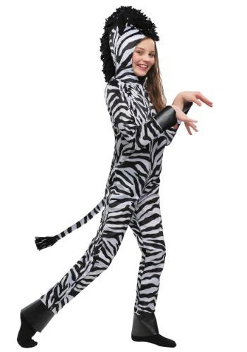 Kids Wild Zebra Costume
