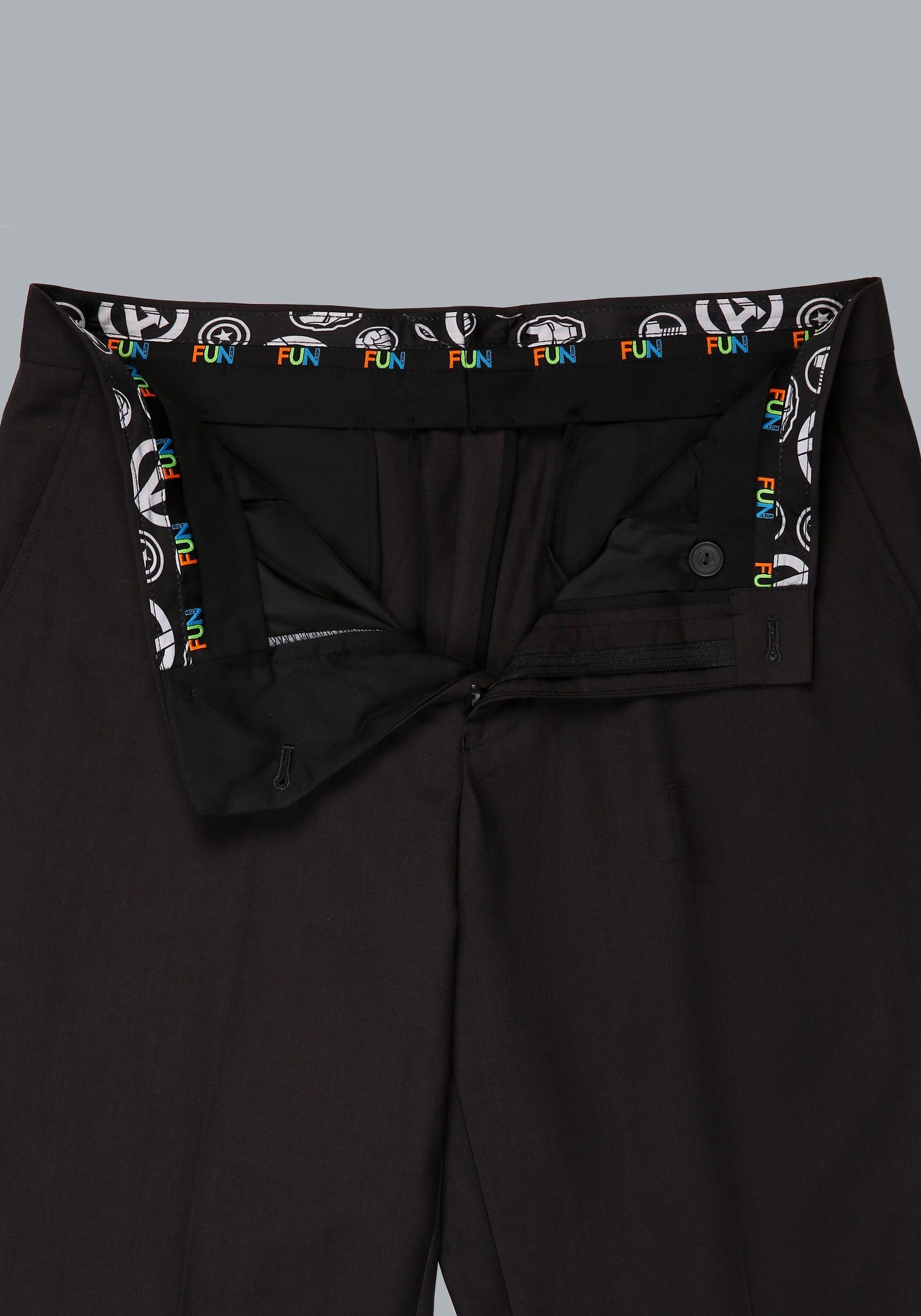 Avengers Slim Fit Suit Pants (Secret Identity)2