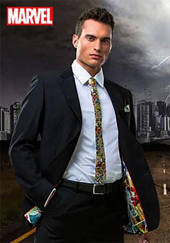 Marvel Comic Strip Suit Jacket Secret Identity upd4