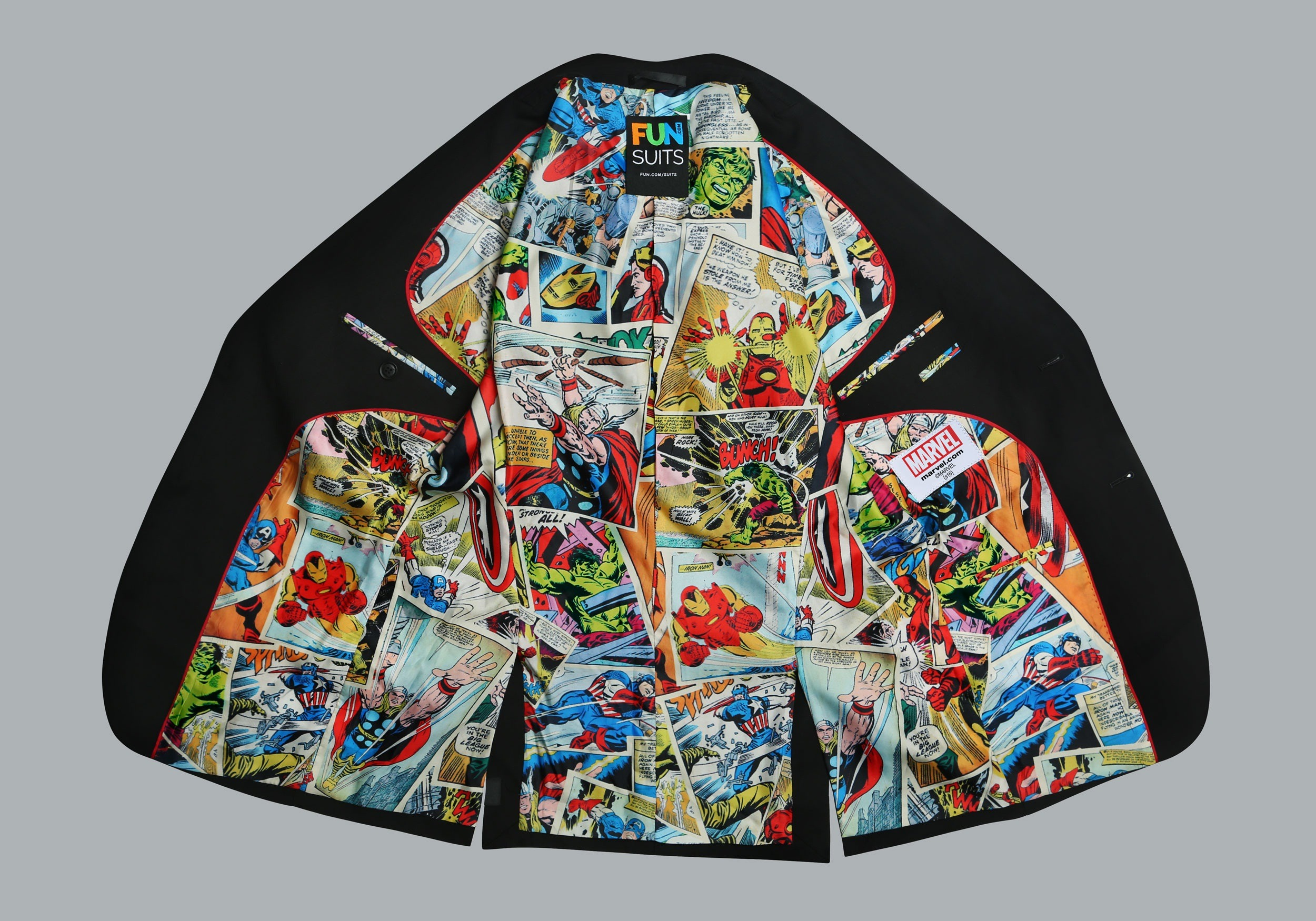 Marvel Comic Strip Suit (Secret Identity)