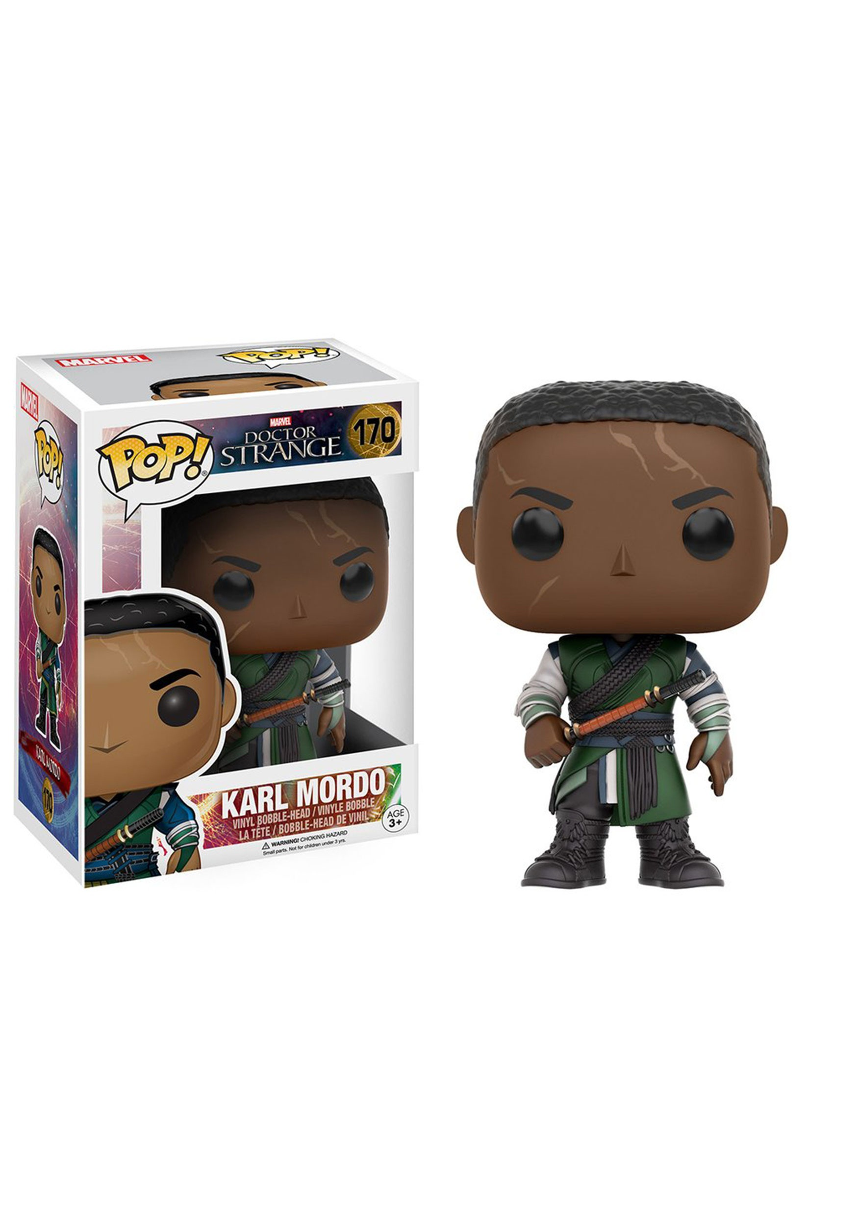 Marvel Doctor Strange Karl Mordo POP  Bobblehead Figure FN9745