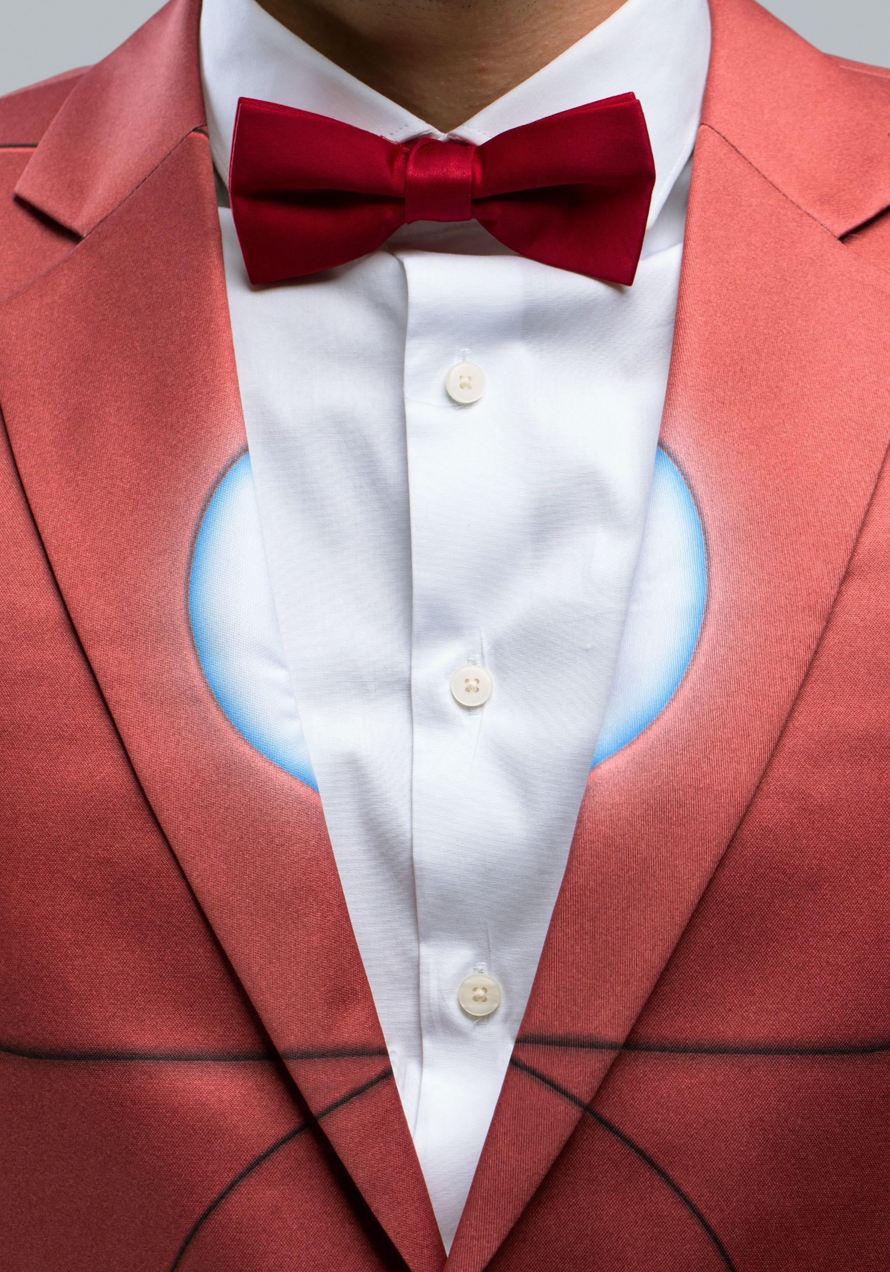 Iron Man Suit Jacket (Alter Ego) & Alter Ego Iron Man Slim Fit Suit Jacket for Men