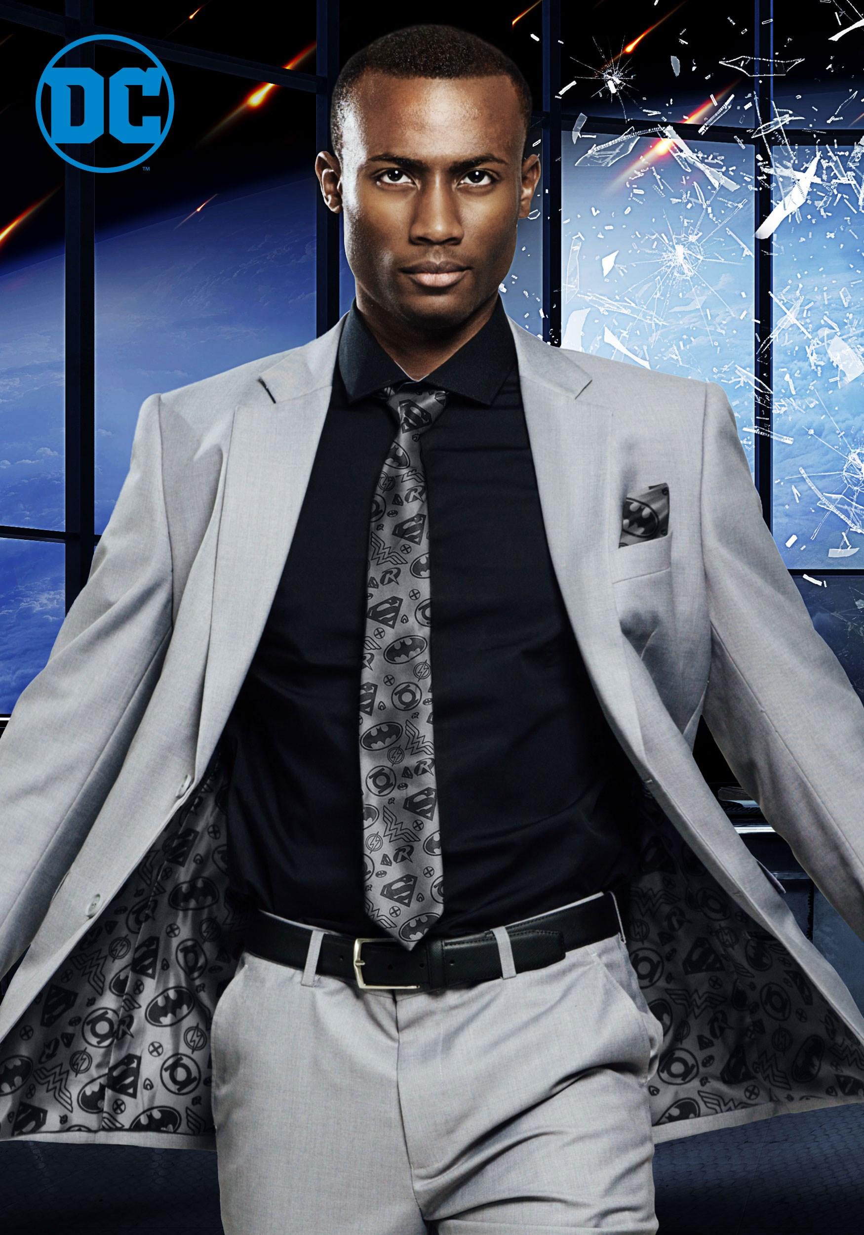 Justice League Suit Jacket Secret Identity