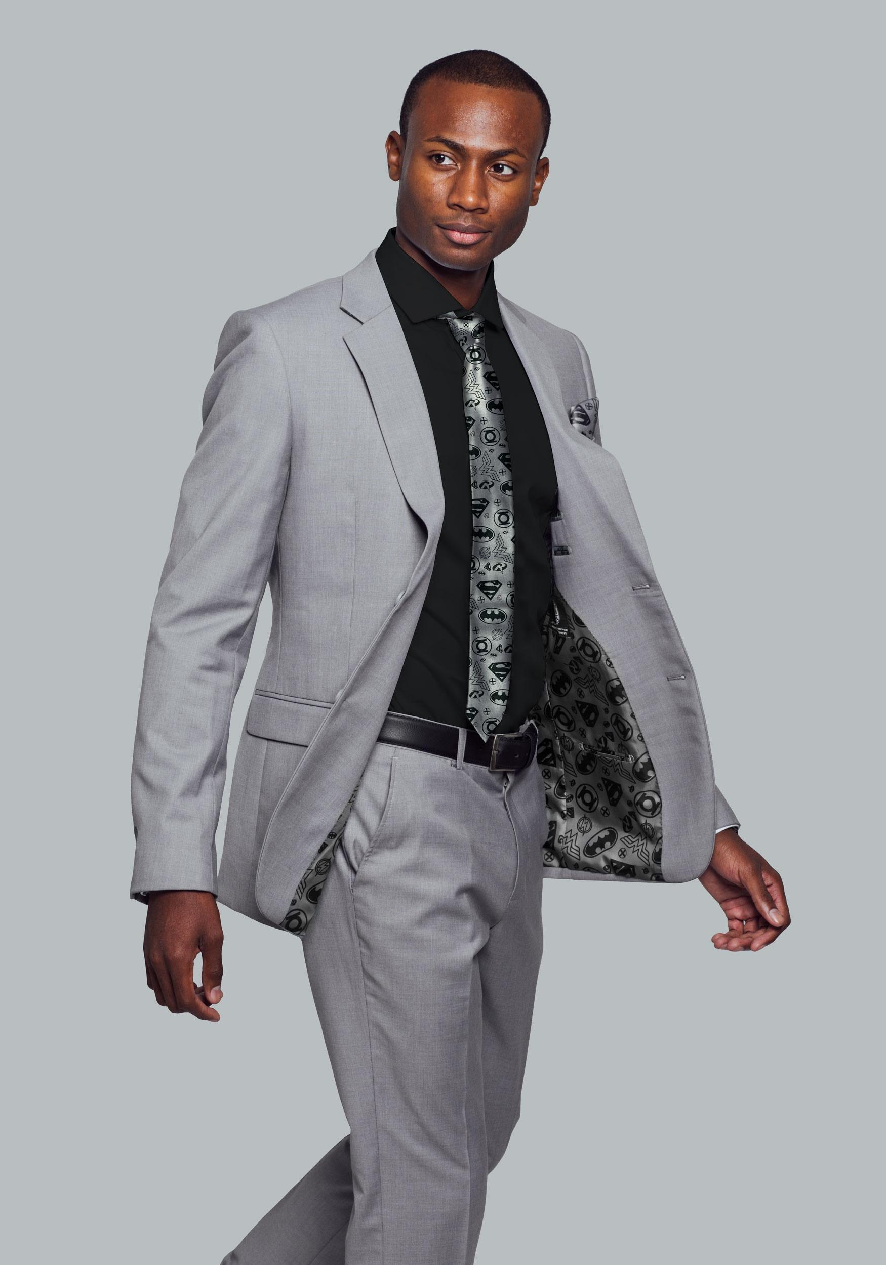 Suit jacket - Justice League Suit Jacket Secret Identity