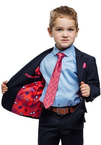 Kids Spider-Man Suit (Secret Identity) - Navy Blue FUN9026CH