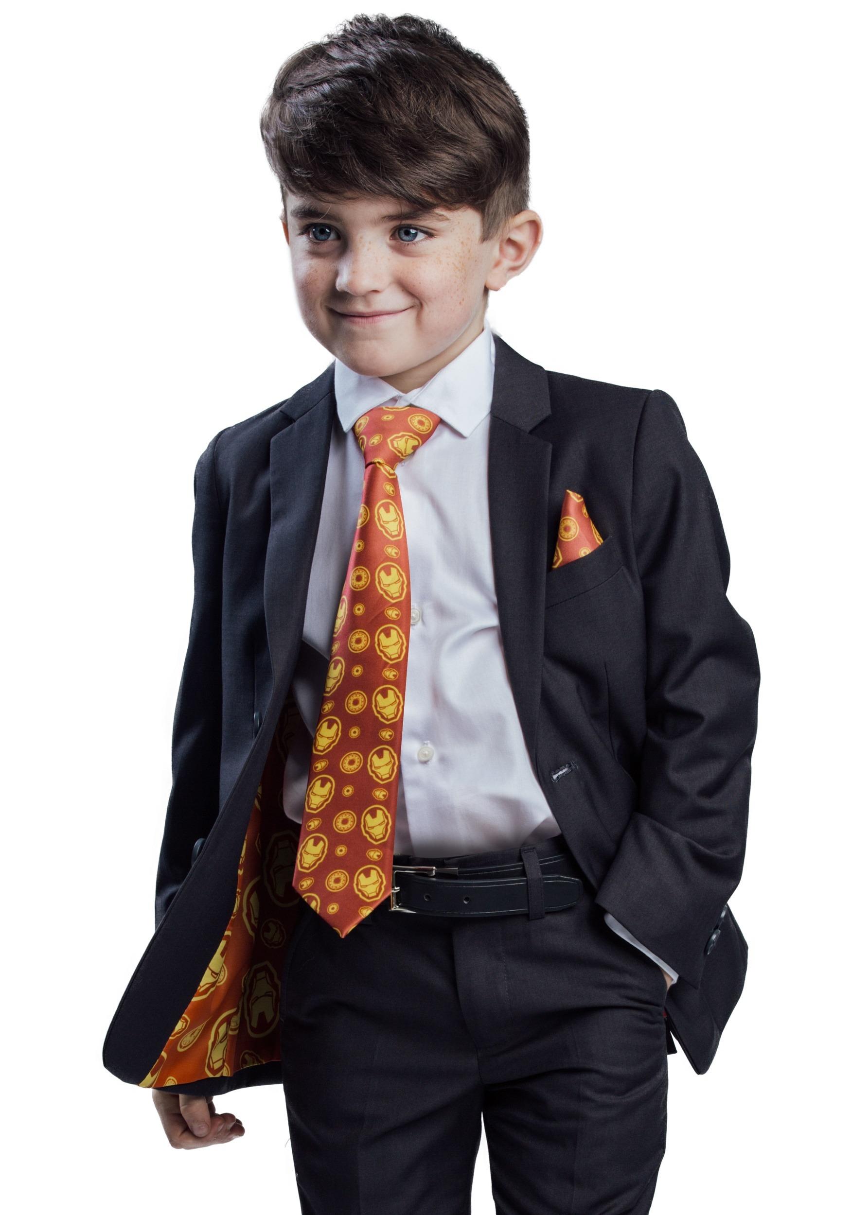 Kids Iron Man Suit (Secret Identity) - Charcoal FUN9024CH