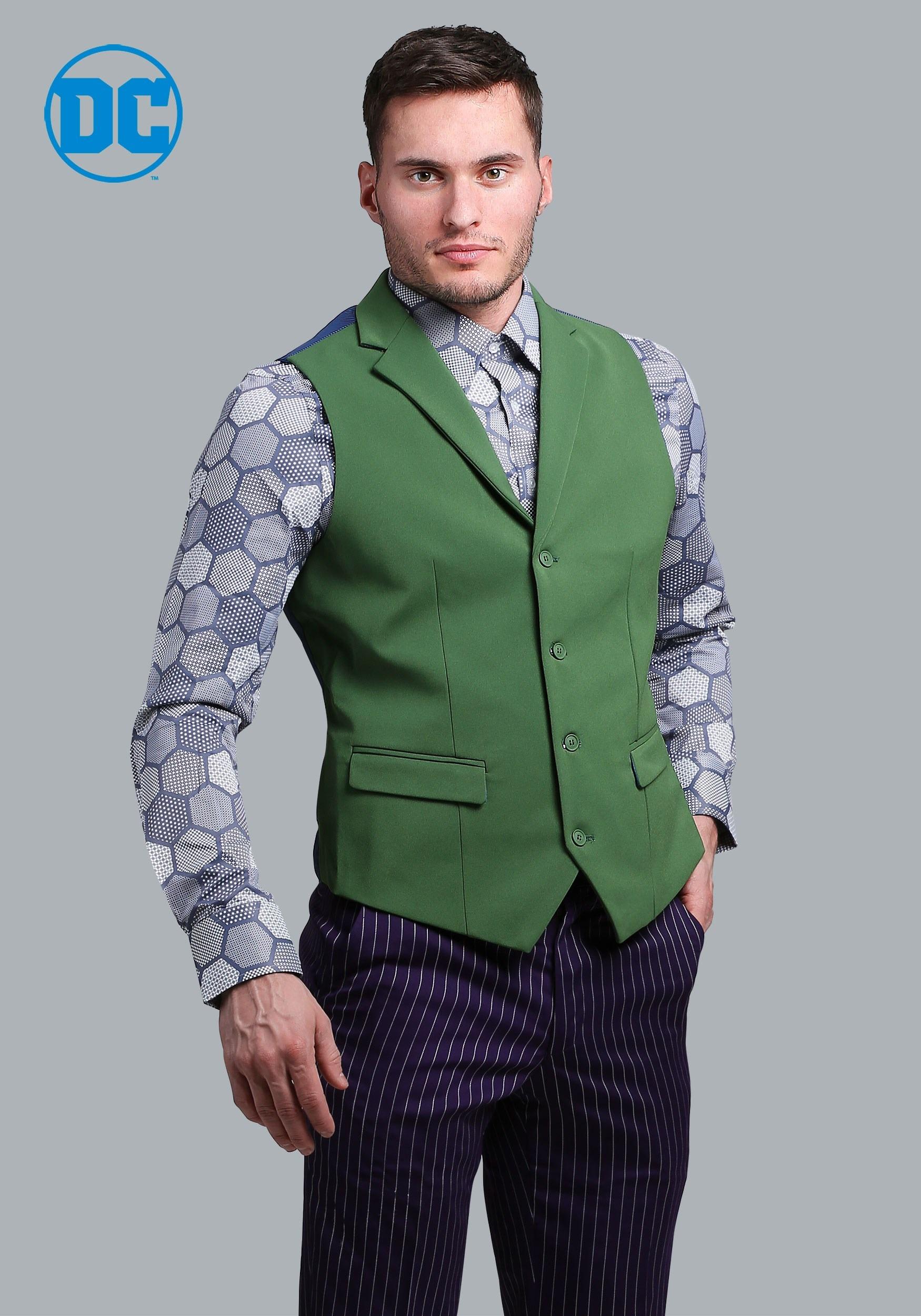 6e345c6ba00 THE JOKER Slim Fit Suit Vest (Authentic)