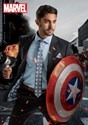 Captain America Suit Jacket (Secret Identity)